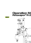 Rotavapor - Model R-250 EX - Industrial Evaporation Operation Manual