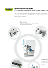 Rotavapor - Model R-300 - Convenient and Efficient Rotary Evaporation System - Brochure