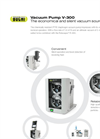 BÜCHI - Model V-300 - Chemically Resistant PTFE Diaphragm Vacuum Pump - Brochure