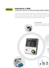 BÜCHI - Model Interface I-300 - Central Control Unit of All Process Parameters - Brochure