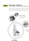 Rotavapor R-220 Pro For Industrial Evaporation - Brochure