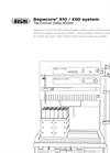 Sepacore X10 / X50 Flash Chromatography Systems - Technical Datasheet