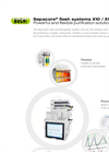 Sepacore X10 / X50 Flash Chromatography Systems - Brochure