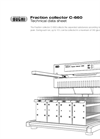 C-660 Fraction Collector - Technical Datasheet