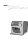 Alltech 3300 ELSD High Sensitivity Detection for Analytical HPLC - Technical Datasheet