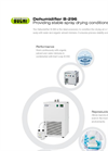 Dehumidifier B-296 - Brochure