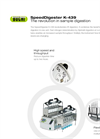 SpeedDigester - Model K-439 - IR and Block Heating Digestion Systems - Brochure