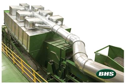 BHS Nihot - Model SDS - Single Drum Separator