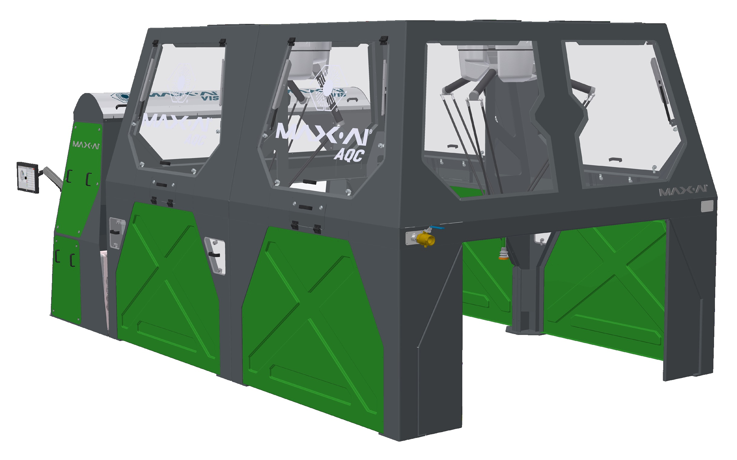 Max-AI - Model AQC-2 - Autonomous Quality Control (AQCs) Sorting Machine