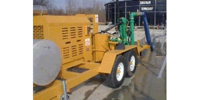 Portable Sludge Pump - Biosolids Transfer Pump