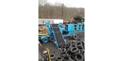 SSI - Model 2400H  - Portable Tire Shredder