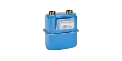 Atmos - Model G1.6S, G2.5S, G4S - Two Pipe  Diaphragm Gas Meter