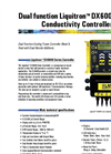 Dual Function DX6000 Conductivity Controller Data Sheet (PDF 420 KB)
