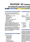 POLYPACK® AP: Continuous And Automatic Preparation Of Polymers (PDF 145 KB)