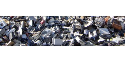 Electronic scrap shredding for the electronic waste management industry