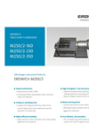 Erdwich - M250/2 Two-Shaft Shredder Technical Datasheet