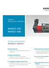 Erdwich M400/1 200 & M400/1 400 Single Shaft Shredder - Datasheets