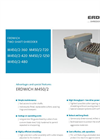 Erdwich M450/2-360 - M450/2-420 - M450/2-480 - M450/2-720 - M450/2-1250 Two Shaft Shredder Data Sheets