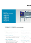 Technical Datasheet | Cardboard Shredder EKZ - Brochure