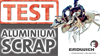 SHREDDING TEST | Aluminium Scrap -