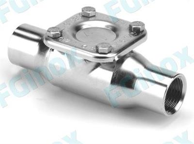 FG INOX - Model 2FTE20 - Stamped In-Line Strainers
