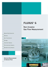 FLUXUS - Model G706 - Non Invasive Ultrasonic Flow Measurement Meter Brochure