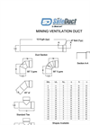 API SafeDuct Product Information Drawing and Fittings