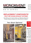 AX R Series, Fire House Replacement Components Brochure