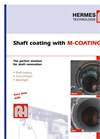 Shaft coating with M-COATING Brochure