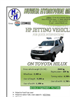 Model HP - Jetting Unit Brochure