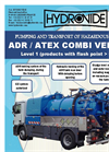 Model ADR ATEX Level 1 - Combined Hasardous Liquid Waste Pumping and Transport Vehicle Brochure