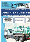 Model ADR ATEX Level 2 - Combined Hasardous Liquid Waste Pumping and Transport Vehicle Brochure