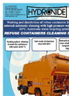 Automatic Refuse Containers Cleaning Machines Brochure