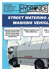 Street Watering and Washing Vehicle Brochure