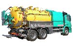 Model ADR ATEX Level 1 - Combined Hasardous Liquid Waste Pumping and Transport Vehicle