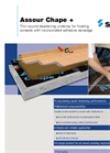 Assour - Model Chape - Thin Sound-Deadening Underlay for Floating Screeds - Brochure