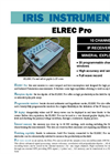 Elrec Pro - 10 Channel Induced Polarisation (IP) and Resistivity Receiver Brochure