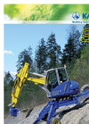 Model SX - Walking-Excavator Brochure