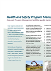 Health & Safety Services Brochure