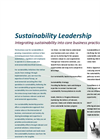 Sustainability Leadership Services Brochure