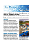 Southern California Meets Water Demands and  Controls Saltwater Intrusion - Application Note