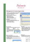 Pulsowin - Management of Meteorological Data Software Brochure