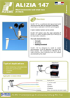 Alizia 147 - wind anemometer,  wind vane and solar radiation sensor - Brochure