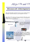 Alizia 178 and 179 - Anemometer Brochure