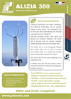 Alizia 380 - Ultrasonic Wind Sensor - Ultra Low Power