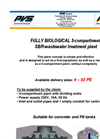 Fully Biological 3-Compartment SBR-Wastewater Treatment Plant Brochure