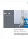 ABEL - HM - Hydraulic Piston Membrane Pumps Brochure