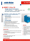Model IHDC 1.5 to 15 - Sludge Trap/Oil Interceptors Brochure