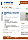 STOPPOL - Rainwater Treatment Plant Brochure