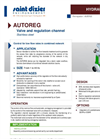 AUTOREG - Valve and Regulation Channel- Brochure